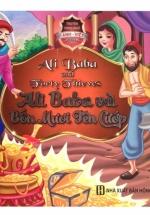 Truyện Song Ngữ Anh Việt - Ali Baba Và Bốn Mươi Tên Cướp