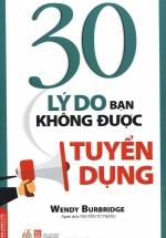 30 Lý Do Bạn Không Được Tuyển Dụng