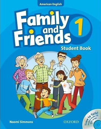 Family And Friends American Edition 1- Student Book & Student CD Pack - EBOOK/PDF/PRC/EPUB