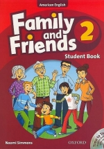 Family And Friends American Edition 2- Student Book & Student CD Pack