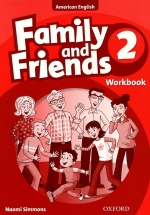 Family And Friends American 2 - Workbook