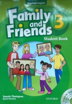 Family And Friends American 3 - Student Book & Student CD Pack