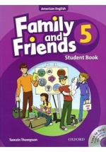 Family And Friends American 5 - Student Book & Student CD Pack