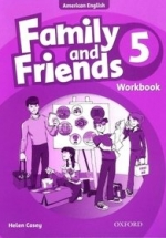 Family And Friends American 5 - Workbook