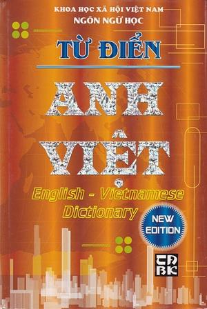 Từ Điển Anh - Việt - EBOOK/PDF/PRC/EPUB
