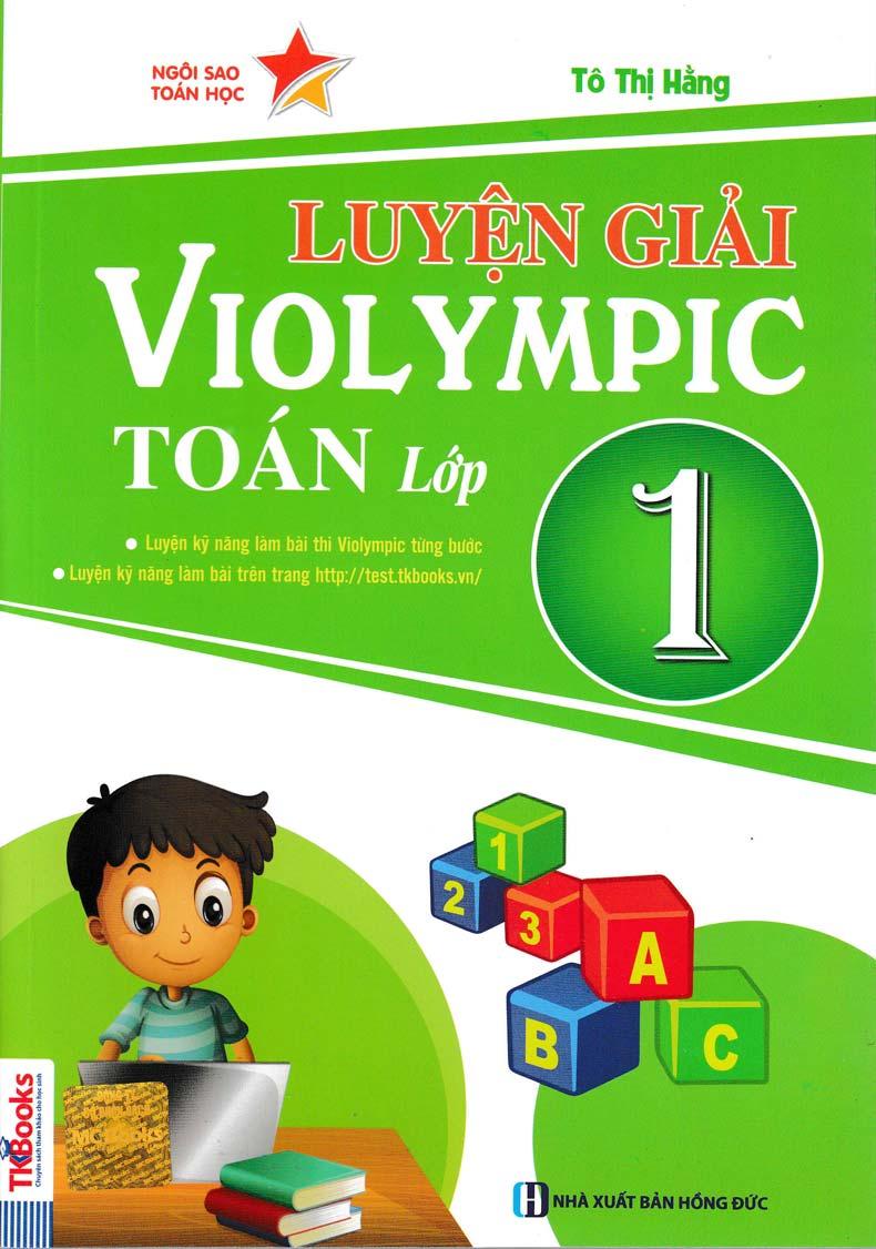 Luyện Giải Violympic Toán Lớp 1 - EBOOK/PDF/PRC/EPUB
