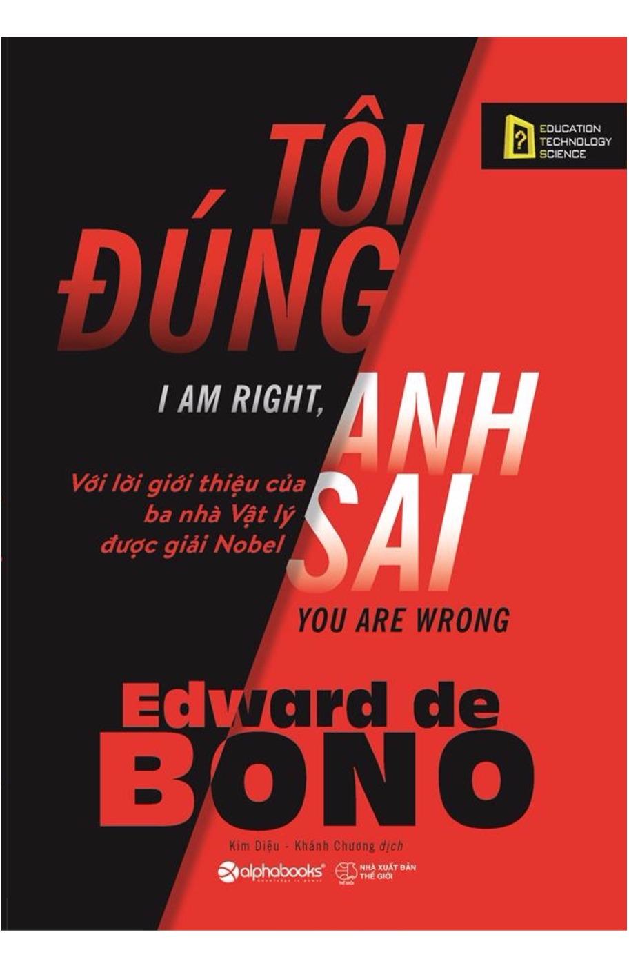 Tôi Đúng Anh Sai - EBOOK/PDF/PRC/EPUB