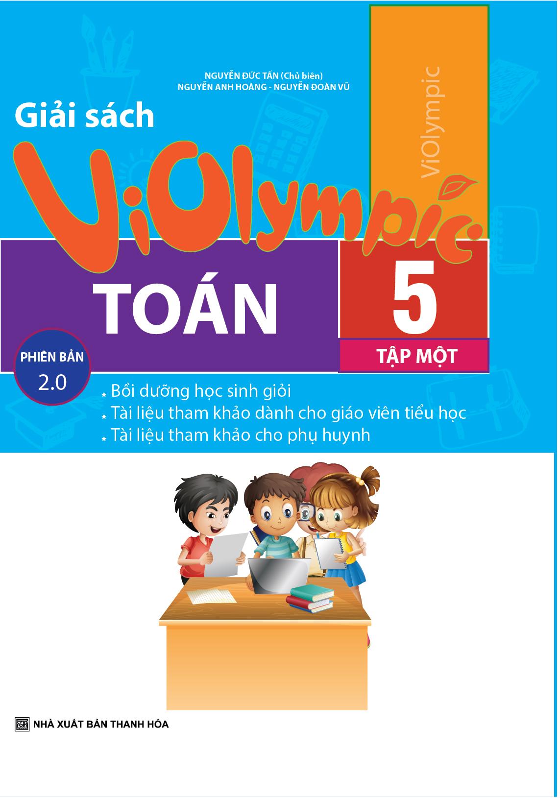 Giải Sách Violympic Toán 5 Tập 1 Phiên Bản 2.0 - EBOOK/PDF/PRC/EPUB