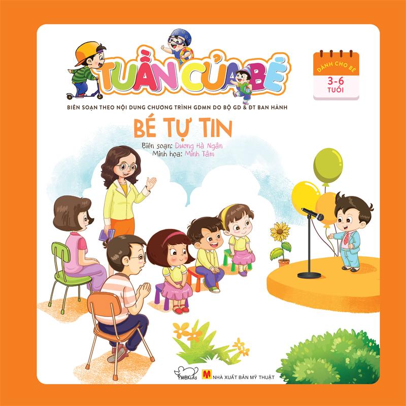 Tuần Của Bé Tháng 7 - Bé Tự Tin - EBOOK/PDF/PRC/EPUB
