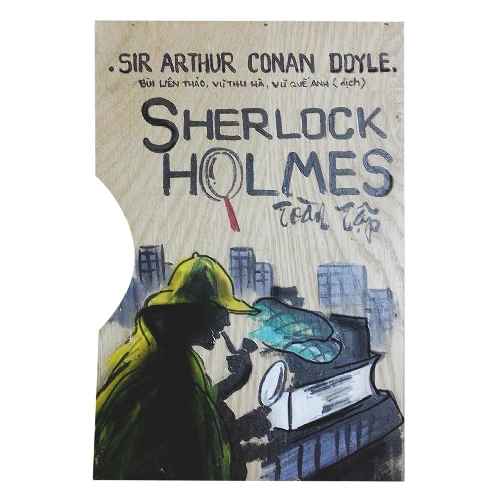 Sherlock Holmes Toàn Tập (Trọn Bộ 3 Tập) - Hộp Gỗ
