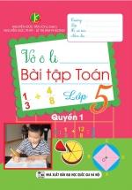 Vở Ô Li Bài Tập Toán Lớp 5 Quyển 1 (Khang Việt)