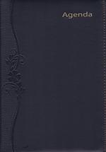 Sổ Agenda 2018 KV369 (16x24 cm) - Đen