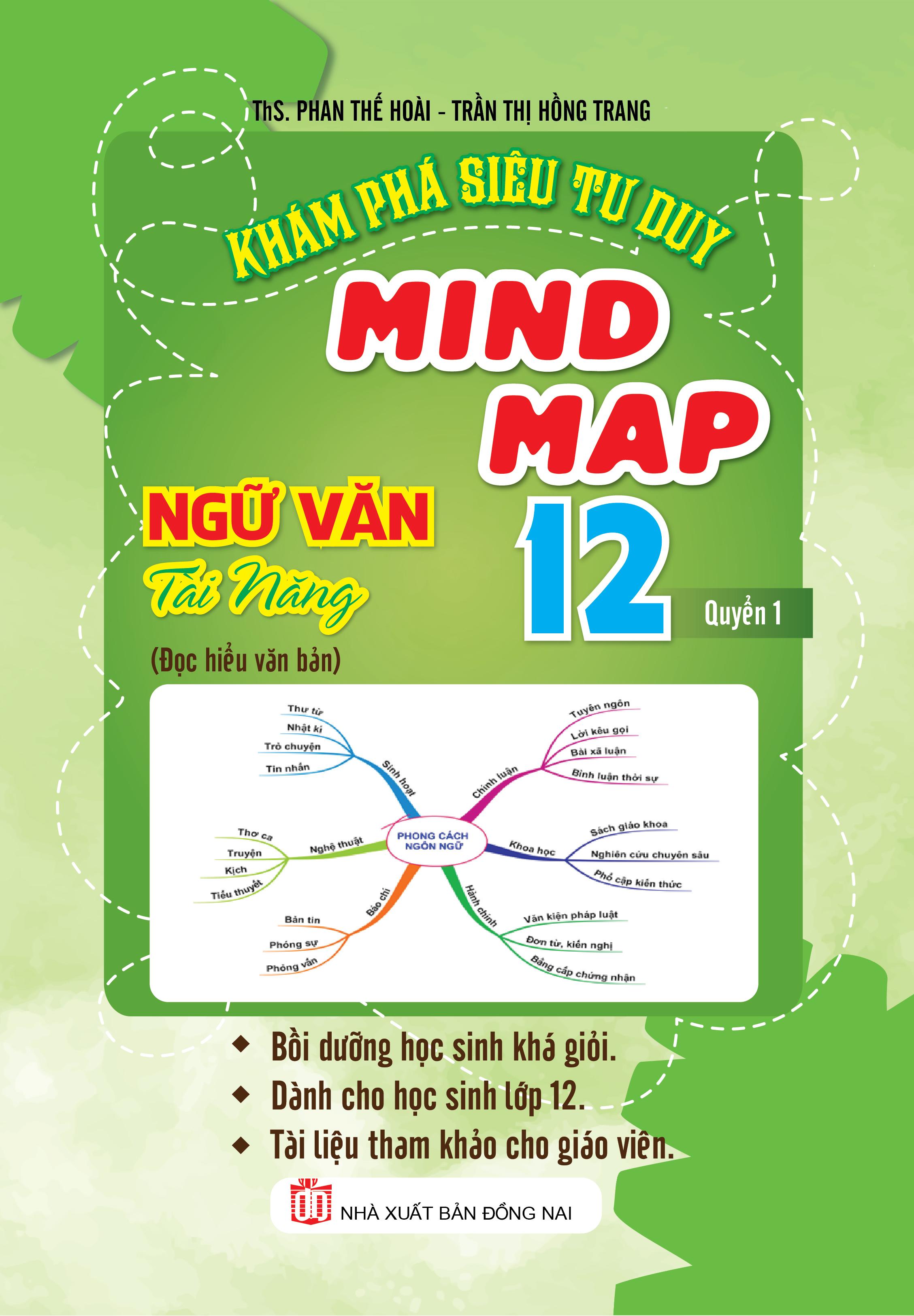 Khám Phá Siêu Tư Duy Mind Map Ngữ Văn Tài Năng 12 Quyển 1 - EBOOK/PDF/PRC/EPUB
