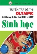 Tuyển Tập Đề Thi Olympic 30 Tháng 4 Lần Thứ XXIII - 2017  Môn Sinh Học