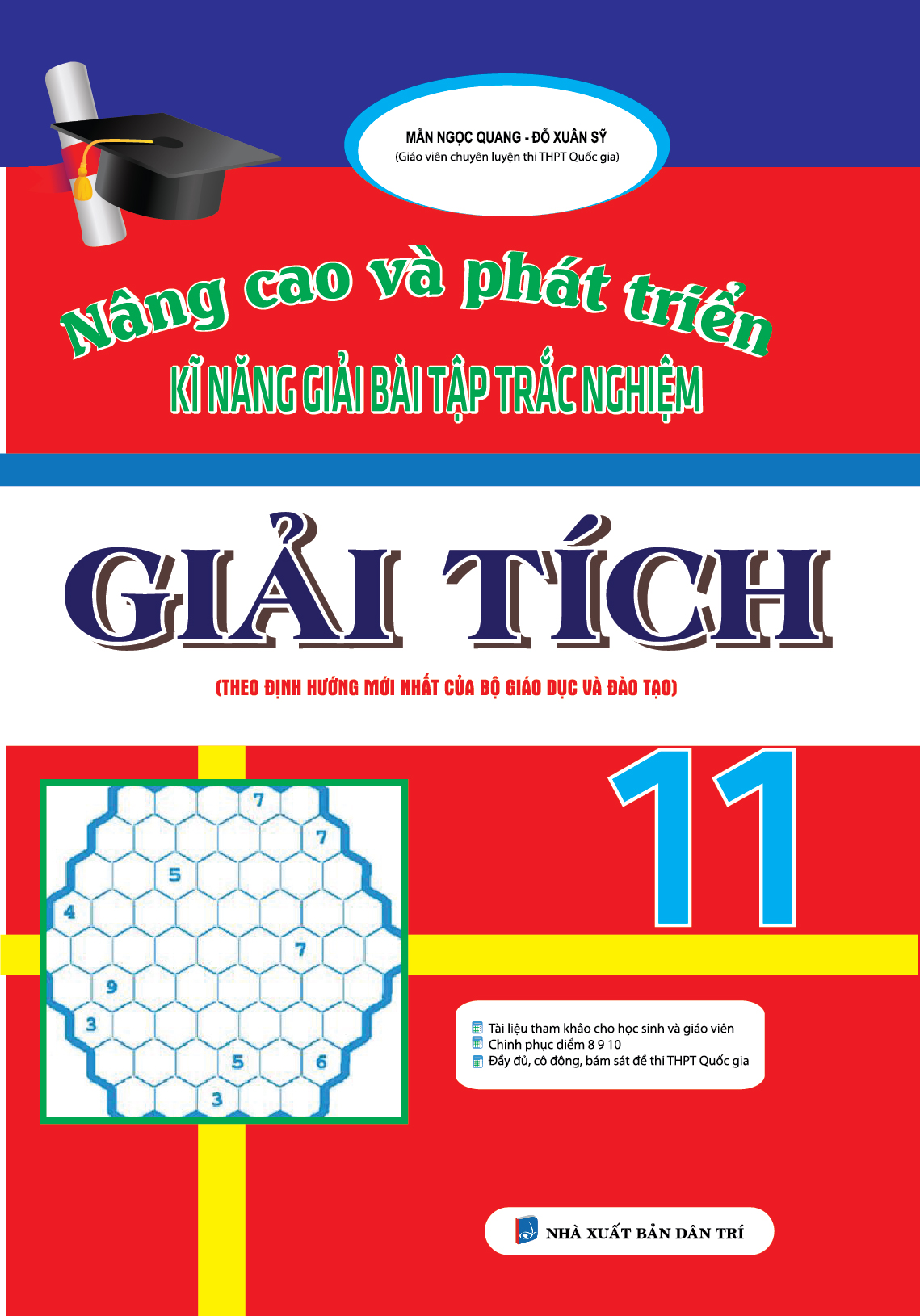 Nâng Cao Và Phát Triển Kĩ Năng Giải Bài Tập Trắc Nghiệm Giải Tích 11 - EBOOK/PDF/PRC/EPUB