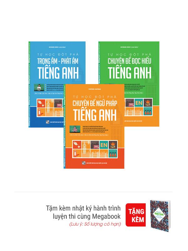 Combo Tự Học Đột Phá Tiếng Anh - EBOOK/PDF/PRC/EPUB