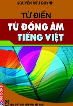 Từ Điển Từ Đồng Âm Tiếng Việt