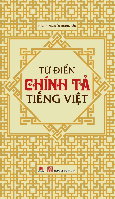 Từ Điển Chính tả tiếng Việt Bìa Cứng