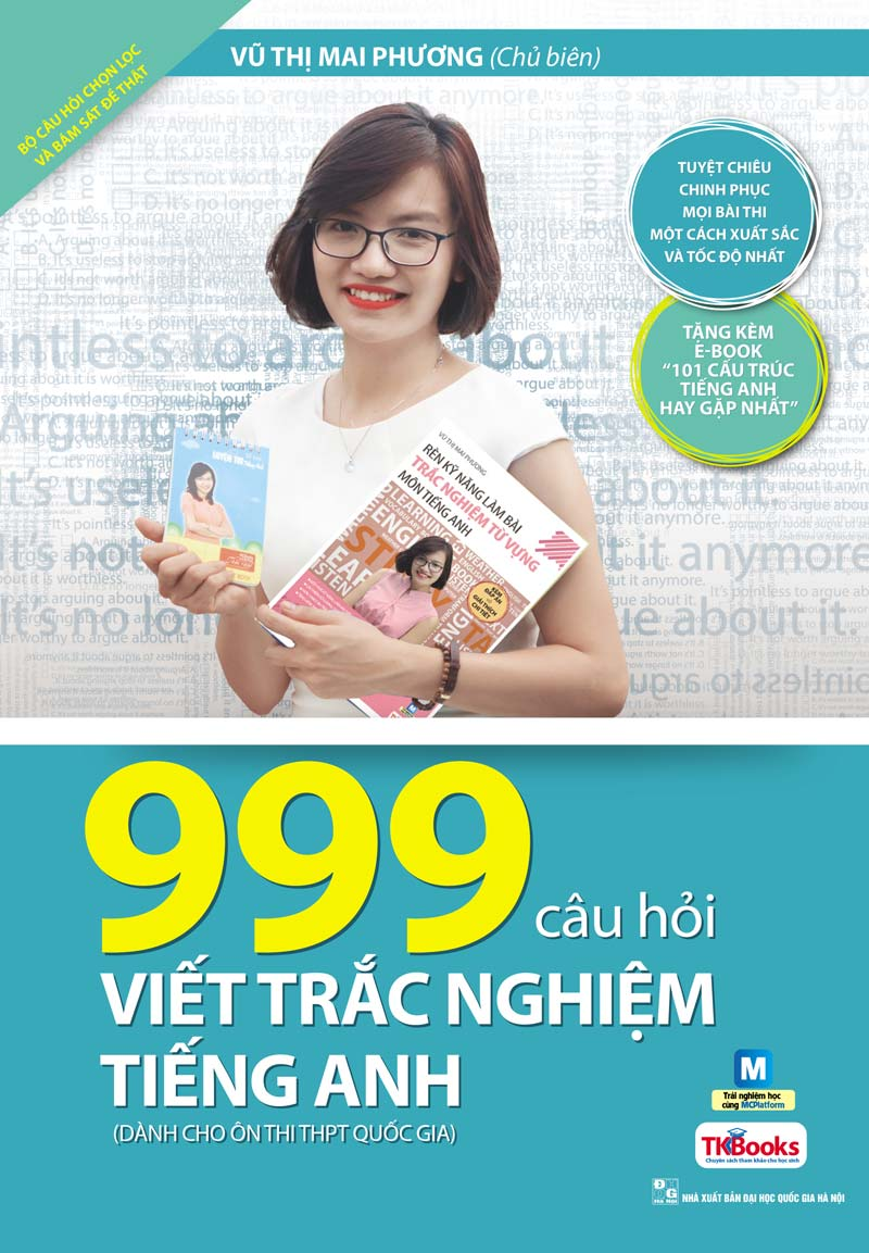 999 Câu Hỏi Viết Trắc Nghiệm Tiếng Anh - EBOOK/PDF/PRC/EPUB