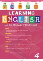 Learning English Làm Chủ Tiếng Anh Bậc Tiểu Học - 4