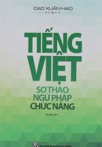 Tiếng Việt Sơ Thảo Ngữ Pháp Chức Năng