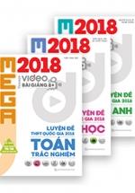 Combo Mega 2018 Toán - Văn - Anh