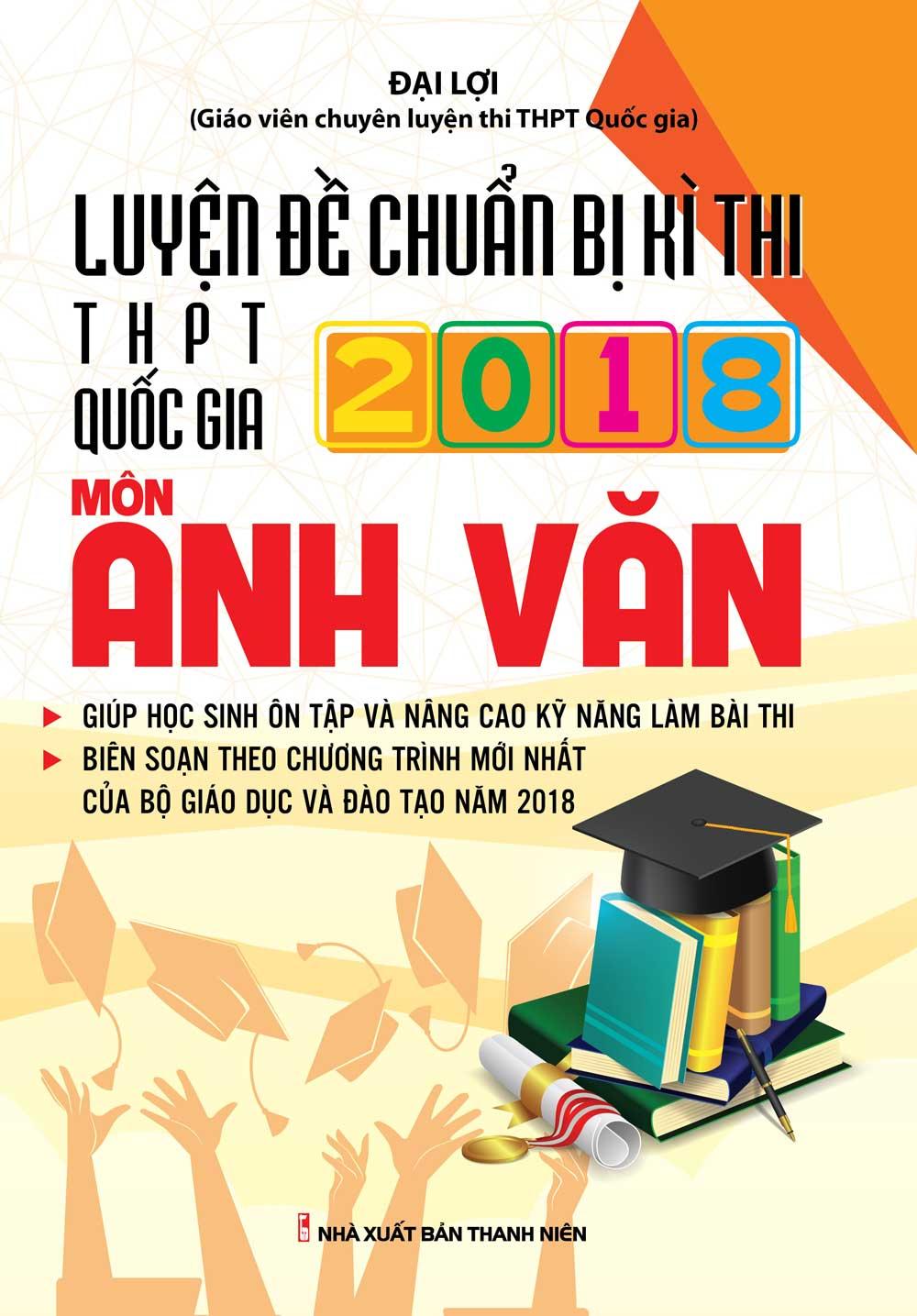 Luyện Đề Chuẩn Bị Kì Thi THPTQG Môn Anh Văn - EBOOK/PDF/PRC/EPUB