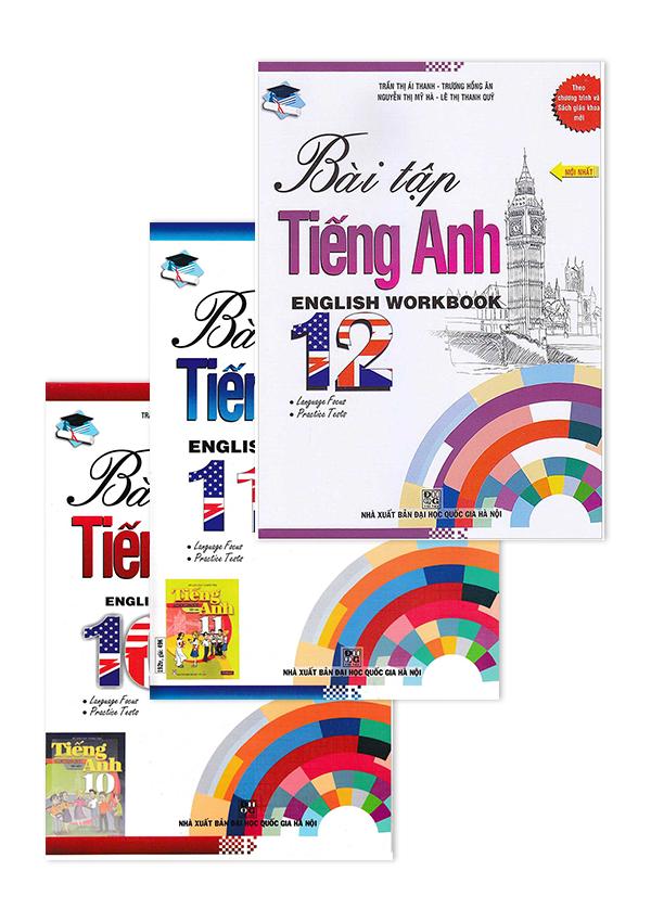 Combo Sách Bài Tập Tiếng Anh - English Workbook - Sách Bài Tập Theo Chương Trình Mới - EBOOK/PDF/PRC/EPUB