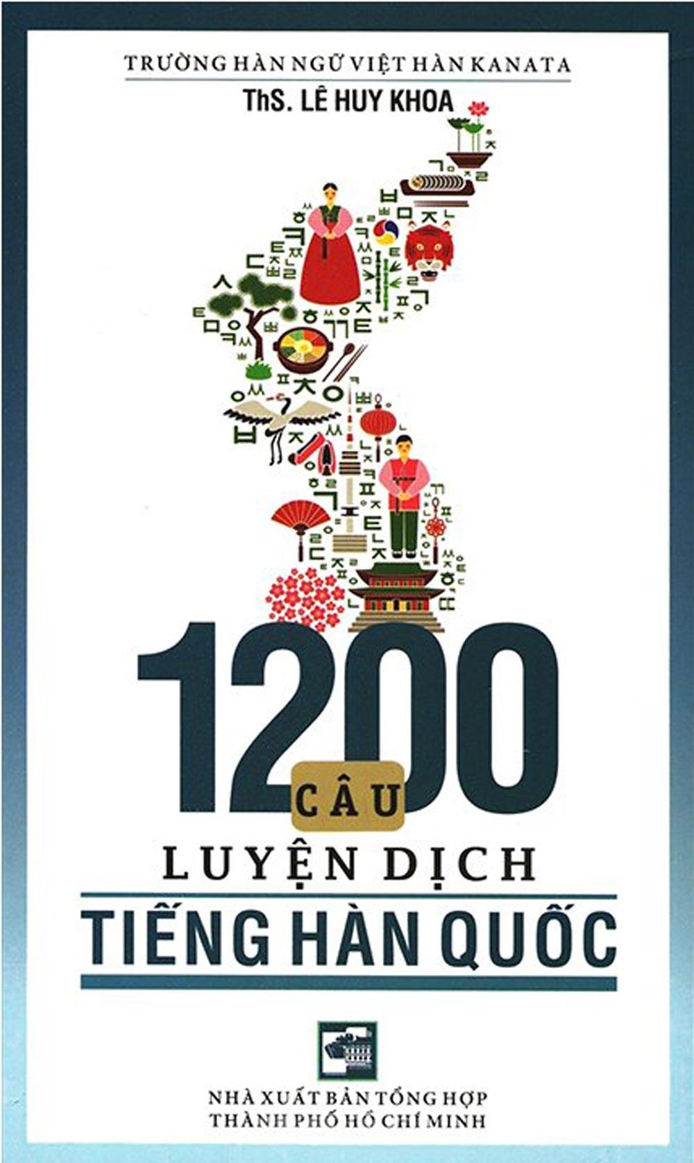 1200 Câu Luyện Dịch Tiếng Hàn Quốc - EBOOK/PDF/PRC/EPUB