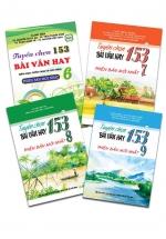 Combo sách 153 bài văn 6 -7 -8 - 9