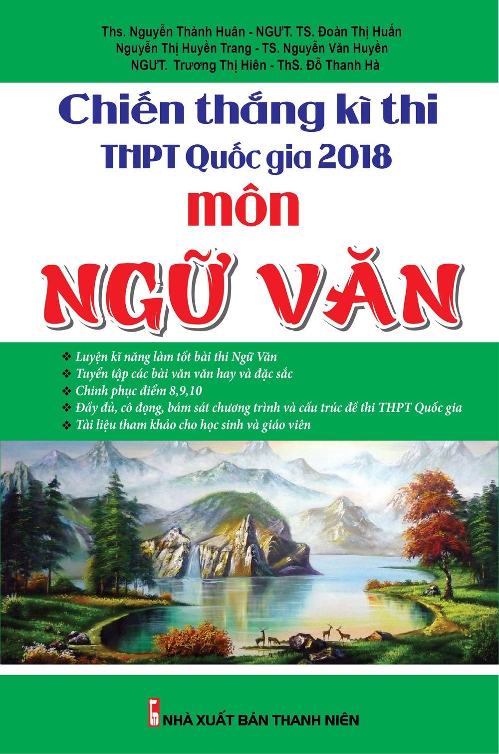 Chiến Thắng Kì Thi THPT Quốc Gia 2018 Môn Ngữ Văn - EBOOK/PDF/PRC/EPUB