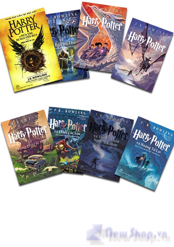 Combo Harry Potter (trọn Bộ 8 Cuốn)