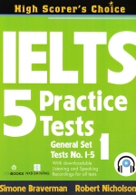 IELTS 5 Practice Tests - General Set 1
