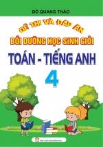 Đề Thi Và Đáp ÁN Bồi Dưỡng Học Sinh Giỏi Toán - Tiếng Anh 4