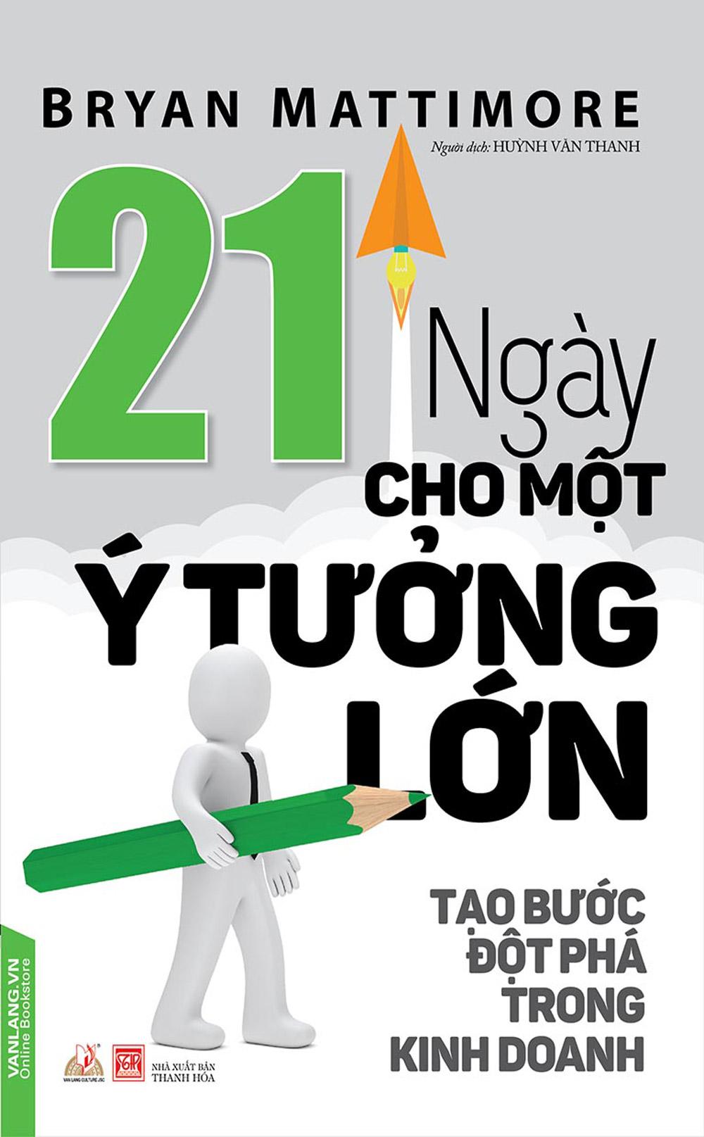 21 Ngày Cho Một Ý Tưởng Lớn - EBOOK/PDF/PRC/EPUB