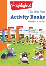 The Big Fun Activity Books (Trọn Bộ 6 Cuốn)
