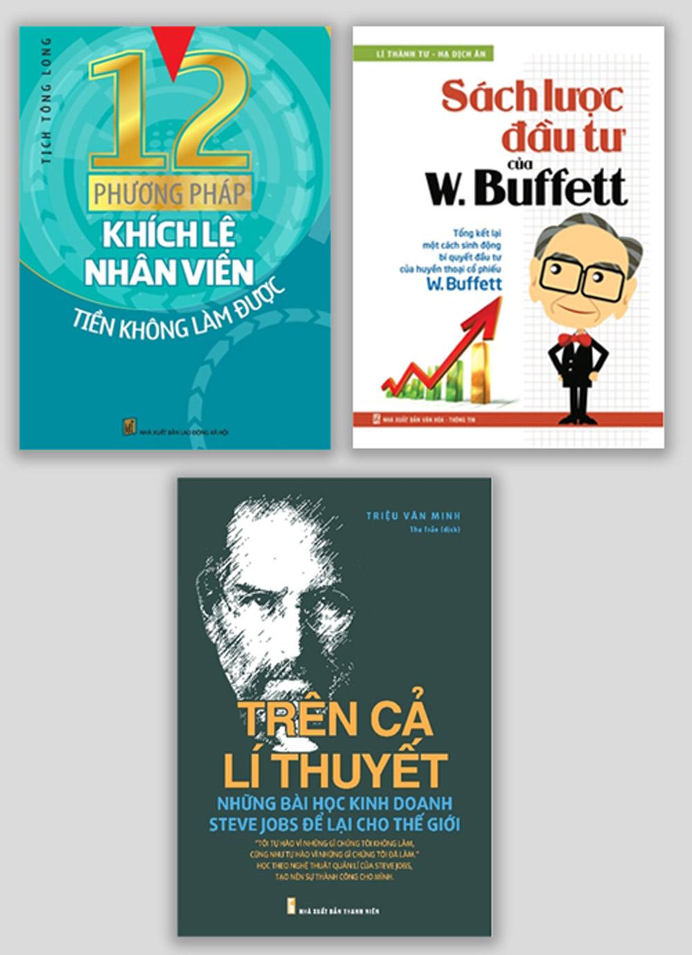 Combo 12 Phương Pháp Khích Lệ Nhân Viên + Trên Cả Lí Thuyết + Sách Lược Đầu Tư Của W.Buffett - EBOOK/PDF/PRC/EPUB