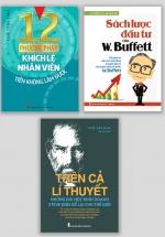 Combo 12 Phương Pháp Khích Lệ Nhân Viên + Trên Cả Lí Thuyết + Sách Lược Đầu Tư Của W.Buffett