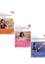 Combo Rèn Kỹ Năng Làm Bài Trắc Nghiệm Môn Anh Văn THPT Quốc Gia (3 Quyển)