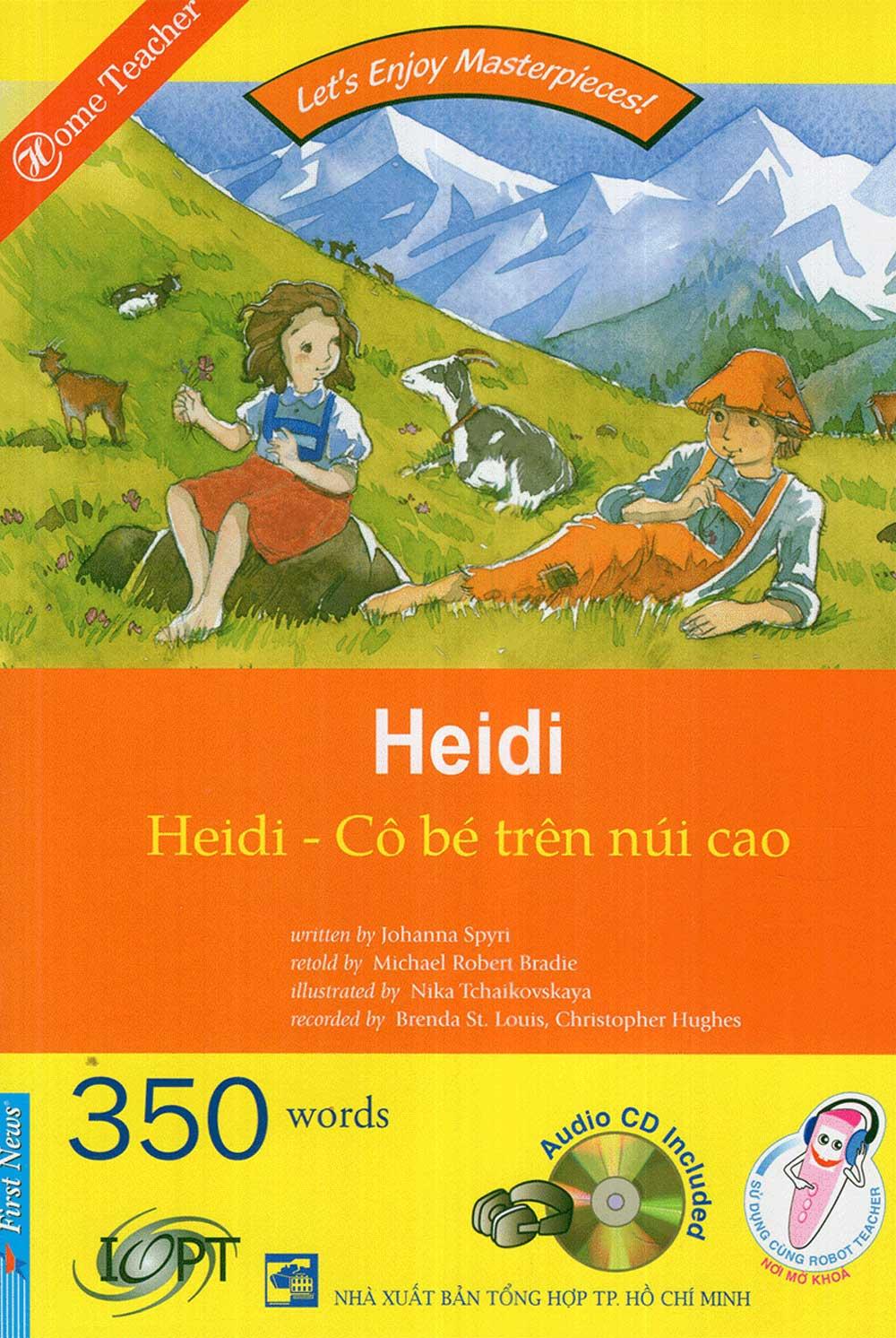 Happy Reader - Heidi Cô Bé Trên Núi Cao (Kèm 01 CD) - EBOOK/PDF/PRC/EPUB