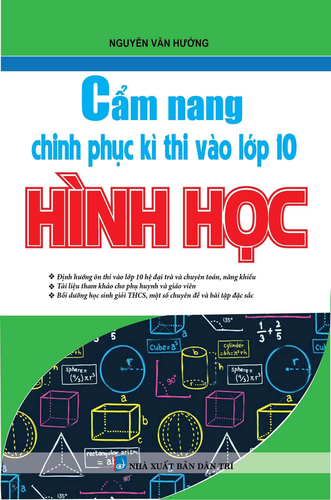 Cẩm Nang Chinh Phục Kì Thi Vào Lớp 10 Hình Học