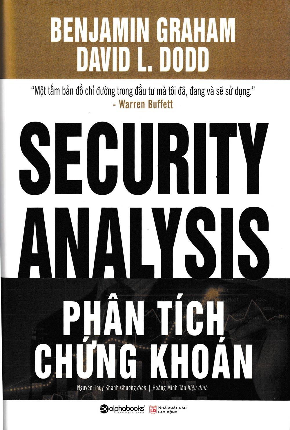 Phân Tích Chứng Khoán (Security Analysis) - EBOOK/PDF/PRC/EPUB