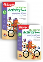 Big Fun Activitity Books Kindergarten