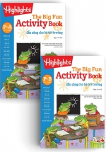 Big Fun Activitity Books Preschool