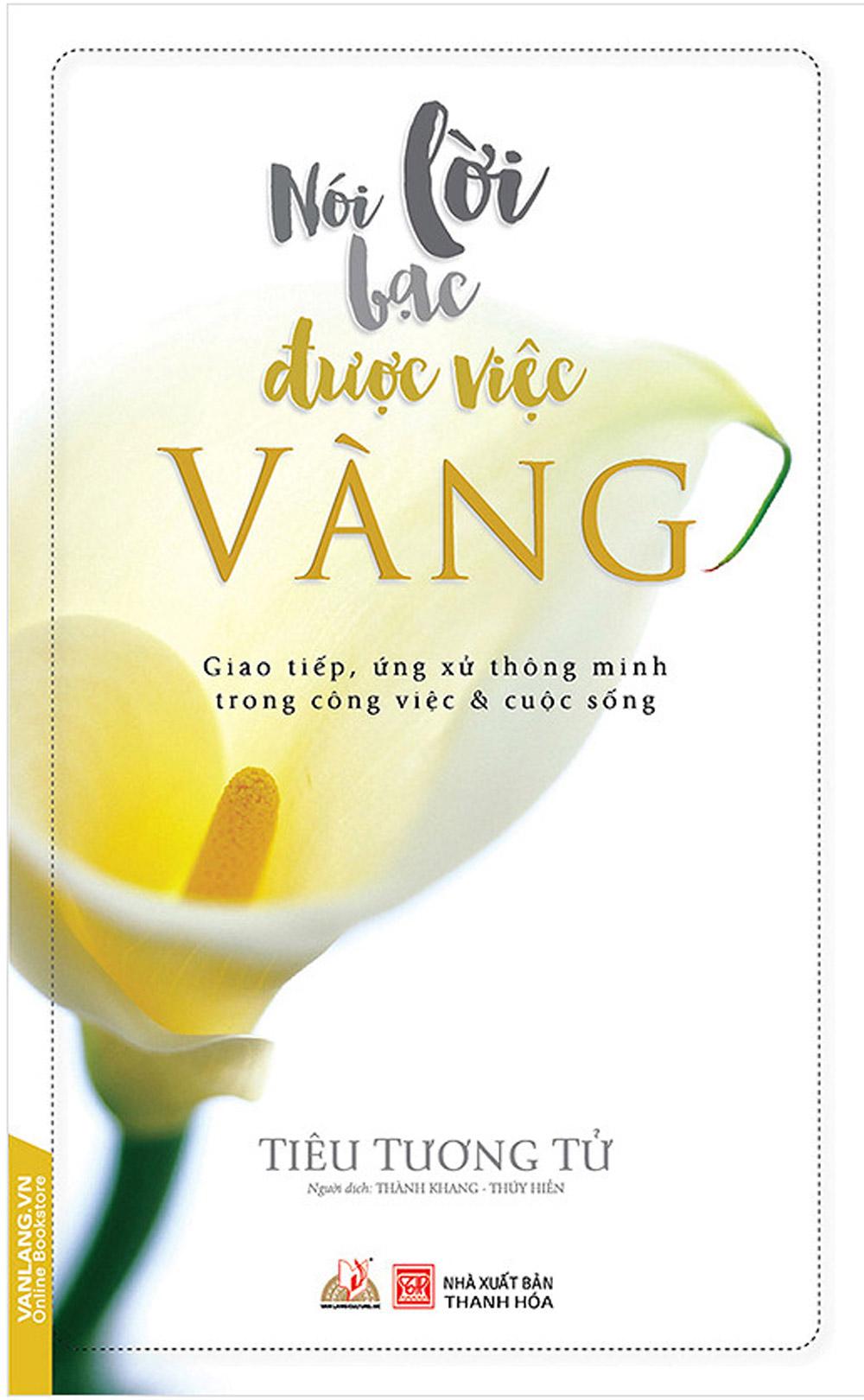 Nói Lời Bạc Được Việc Vàng (Tái Bản) - EBOOK/PDF/PRC/EPUB