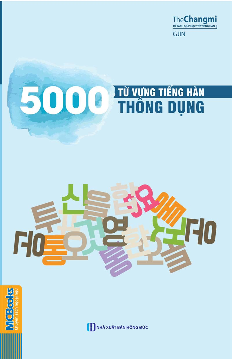 5000 Từ Vựng Tiếng Hàn Thông Dụng - EBOOK/PDF/PRC/EPUB