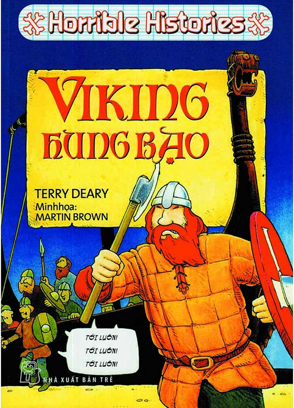 Horrible Histories - Viking Hung Bạo (Tái Bản 2018) - EBOOK/PDF/PRC/EPUB