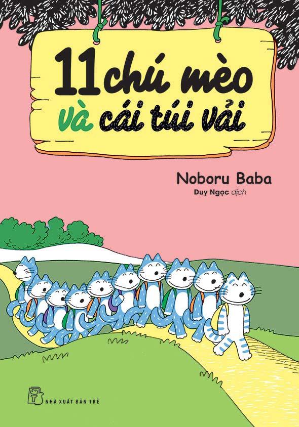 11 Chú Mèo Và Cái Túi Vải - EBOOK/PDF/PRC/EPUB