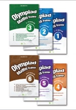 Combo Olympiad Maths Trainer (Bộ 6 Cuốn)