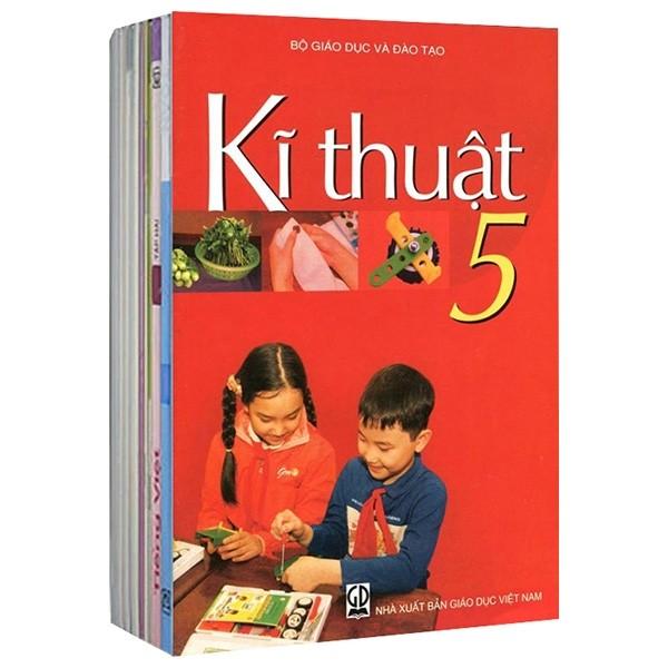 Bộ Sách Giáo Khoa Lớp 5 - Sách Bài Học (Bộ 9 Cuốn)